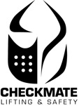 Image of the Checkmate Lifting & Safety logo.
