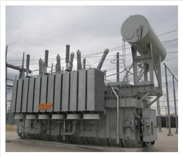 Image of utility company equipment.